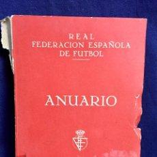 Coleccionismo deportivo: REAL FEDERACIÓN ESPAÑOLA DE FÚTBOL ANUARIO 1962 744 PÁGS JUGADORES LIGAS HISTORIA DEL FÚTBOL Y CLUB. Lote 113885643