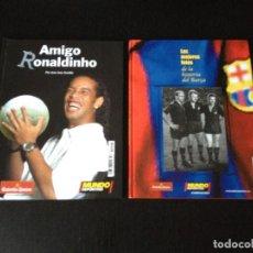 Coleccionismo deportivo: LAS MEJORES FOTOS DE LA HISTORIA DEL BARÇA / AMIGO RONALDINHO - FUTBOL CLUB BARCELONA LIGA LIBRO. Lote 114197219