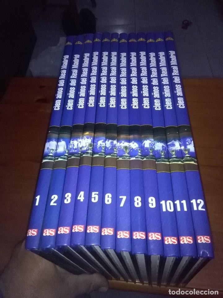 CIEN AÑOS DE REAL MADRID. DEL 1 AL 12. EST10B1 (Coleccionismo Deportivo - Libros de Fútbol)