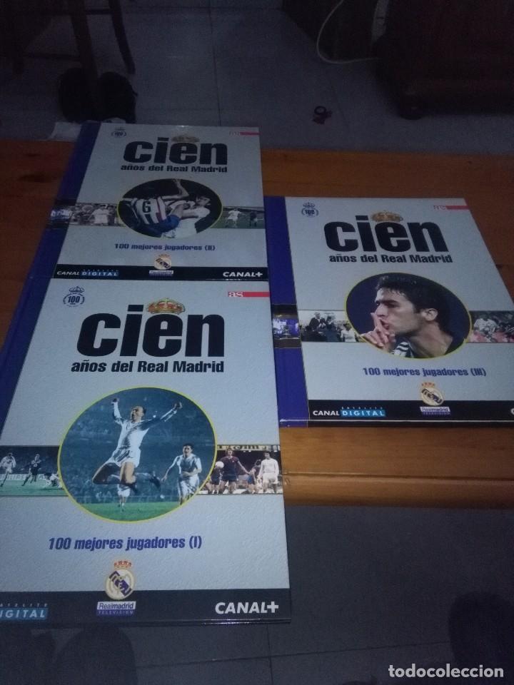 Coleccionismo deportivo: CIEN AÑOS DE REAL MADRID. DEL 1 AL 12. EST10B1 - Foto 3 - 114289675