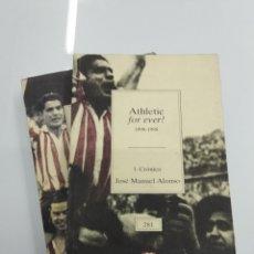 Coleccionismo deportivo: ATHLETIC FOREVER 1898 - 1998 BILBAO 2 TOMOS 1.CRONICA 2.IMAGENES BBK TEMAS VIZCAINOS FUTBOL. Lote 74500465