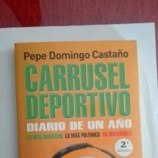 Coleccionismo deportivo: CARRUSEL DEPORTIVO PEPE DOMINGO CASTAÑO INCLUYE CD SIN ABRIR. Lote 115438883