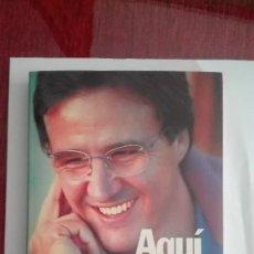 Coleccionismo deportivo: JOSE RAMON DE LA MORENA AQUI UNOS AMIGOS EL LARGUERO CADENA SER. Lote 115438967