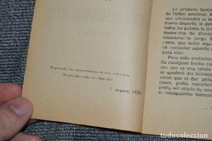 Coleccionismo deportivo: ANTIGUO - ENCICLOPEDIA DE LOS DEPORTES - Nº 7 HISTORIA DEL CAMPEONATO DE LIGA - ARPEM - AÑOS 50 - Foto 5 - 115518843