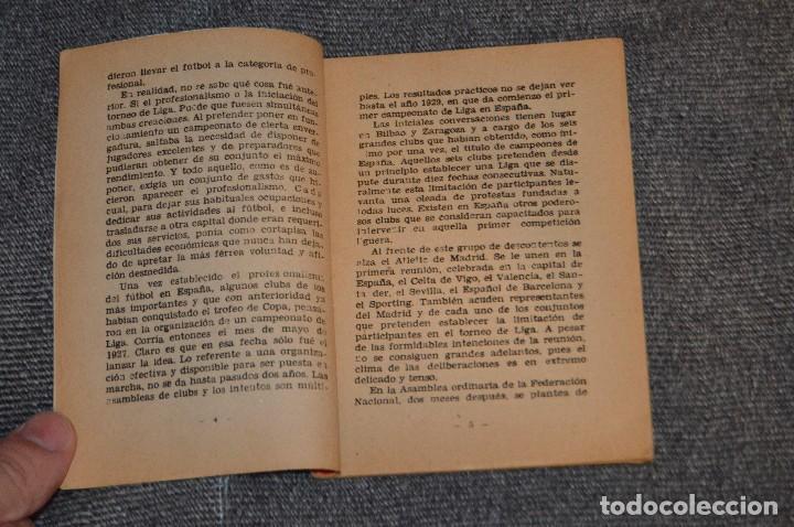 Coleccionismo deportivo: ANTIGUO - ENCICLOPEDIA DE LOS DEPORTES - Nº 7 HISTORIA DEL CAMPEONATO DE LIGA - ARPEM - AÑOS 50 - Foto 6 - 115518843