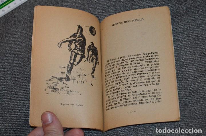 Coleccionismo deportivo: ANTIGUO - ENCICLOPEDIA DE LOS DEPORTES - Nº 7 HISTORIA DEL CAMPEONATO DE LIGA - ARPEM - AÑOS 50 - Foto 7 - 115518843