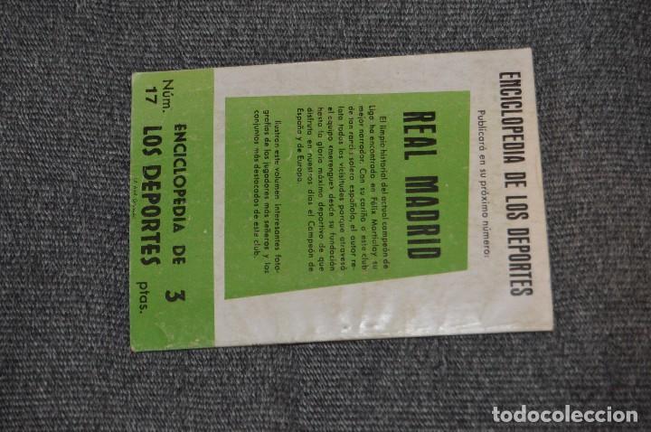 Coleccionismo deportivo: ENCICLOPEDIA DE LOS DEPORTES - Nº 17 - EL CASO PIERA-SAMITIER, LA FURIA ESPAÑOLA 6 - ARPEM - AÑOS 50 - Foto 3 - 115520971