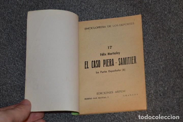Coleccionismo deportivo: ENCICLOPEDIA DE LOS DEPORTES - Nº 17 - EL CASO PIERA-SAMITIER, LA FURIA ESPAÑOLA 6 - ARPEM - AÑOS 50 - Foto 4 - 115520971