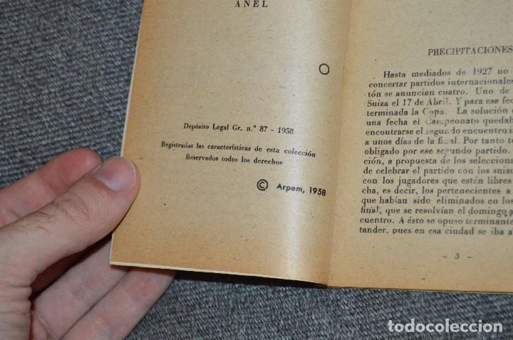 Coleccionismo deportivo: ENCICLOPEDIA DE LOS DEPORTES - Nº 17 - EL CASO PIERA-SAMITIER, LA FURIA ESPAÑOLA 6 - ARPEM - AÑOS 50 - Foto 6 - 115520971