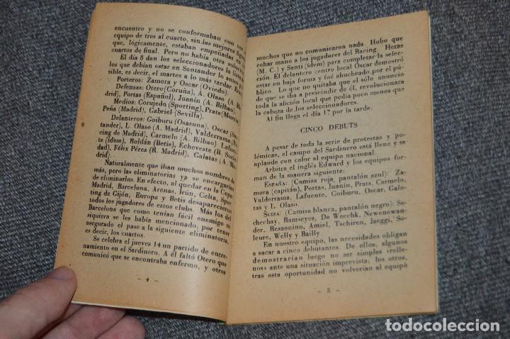 Coleccionismo deportivo: ENCICLOPEDIA DE LOS DEPORTES - Nº 17 - EL CASO PIERA-SAMITIER, LA FURIA ESPAÑOLA 6 - ARPEM - AÑOS 50 - Foto 7 - 115520971