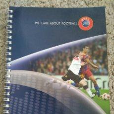 Coleccionismo deportivo: LIBRETA DIRECCIONES FEDERACIONES MIEMBROS UEFA TEMPORADA 2011/2012 FÚTBOL. Lote 115574547