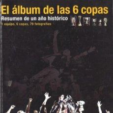 Coleccionismo deportivo: EL ALBUM DE LAS 6 COPAS. FC BARCELONA. MUNDO DEPORTIVO, 2010. Lote 115592359