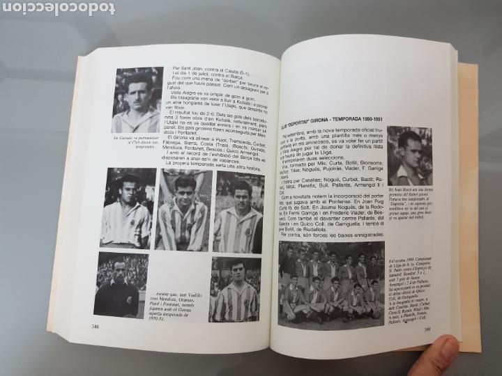 Coleccionismo deportivo: HISTORIA DEL FUTBOLA GIRONA Vol 1 1904-1957 JAUME CURBET FIRMADO AUTOR CON DEDICATORIA - Foto 7 - 115641278