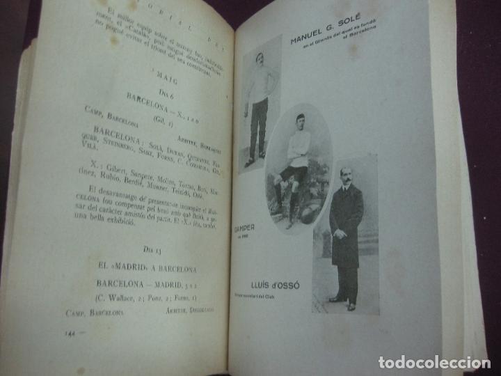 Coleccionismo deportivo: NOCES D'ARGENT DEL F.C. BARCELONA. 1899-1924. DANIEL CARBO I SANTAOLARIA. 2 VOLUMS. BARCELONA 1924. - Foto 3 - 115673891