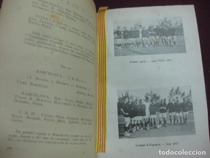 Coleccionismo deportivo: NOCES D'ARGENT DEL F.C. BARCELONA. 1899-1924. DANIEL CARBO I SANTAOLARIA. 2 VOLUMS. BARCELONA 1924. - Foto 4 - 115673891