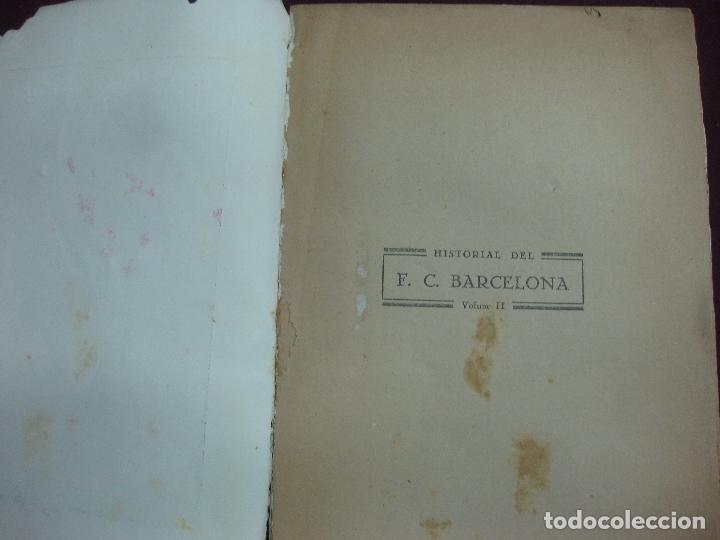 Coleccionismo deportivo: NOCES D'ARGENT DEL F.C. BARCELONA. 1899-1924. DANIEL CARBO I SANTAOLARIA. 2 VOLUMS. BARCELONA 1924. - Foto 5 - 115673891