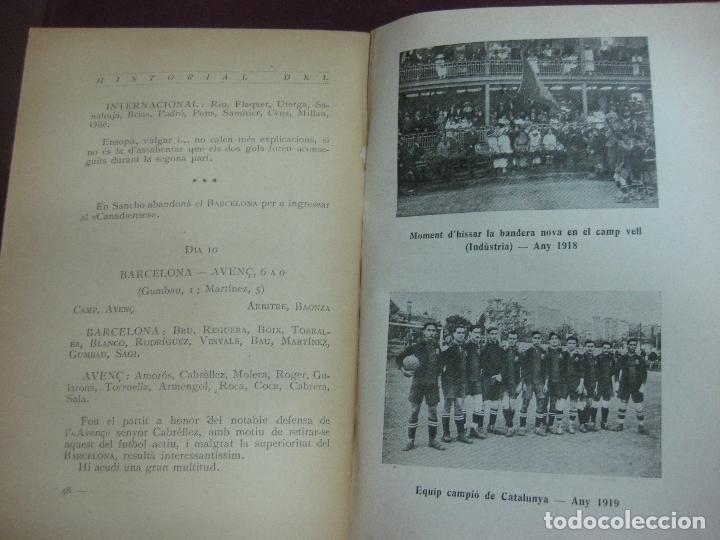 Coleccionismo deportivo: NOCES D'ARGENT DEL F.C. BARCELONA. 1899-1924. DANIEL CARBO I SANTAOLARIA. 2 VOLUMS. BARCELONA 1924. - Foto 6 - 115673891