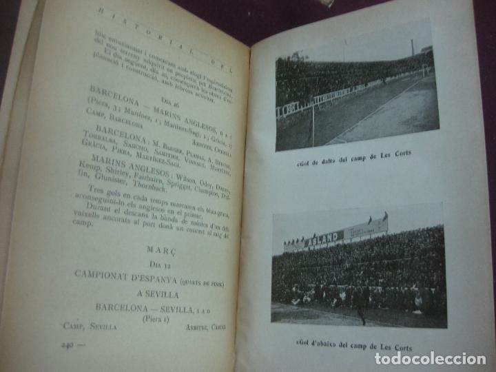 Coleccionismo deportivo: NOCES D'ARGENT DEL F.C. BARCELONA. 1899-1924. DANIEL CARBO I SANTAOLARIA. 2 VOLUMS. BARCELONA 1924. - Foto 8 - 115673891