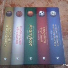 Coleccionismo deportivo: ENCICLOPEDIA DE FUTBOL HÚNGARO (5 TOMOS). Lote 115692755