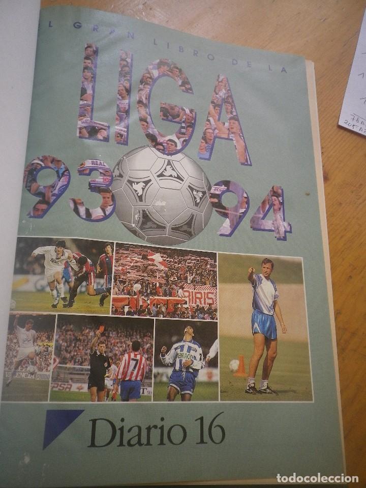 Coleccionismo deportivo: LIGA 94-94 DIARIO 16 ENCADERNADO COMPLETO VER FOTOS - Foto 3 - 116456443