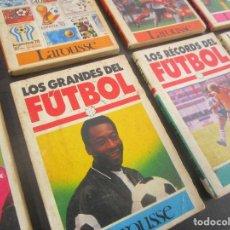 Coleccionismo deportivo: FUTBOL HISTORIA COPAS LIGAS MUNDIALES TECNICA TACTICA PELE LOS GRANDES Y MAS COLECCION RARO Y ESCASO. Lote 116627003