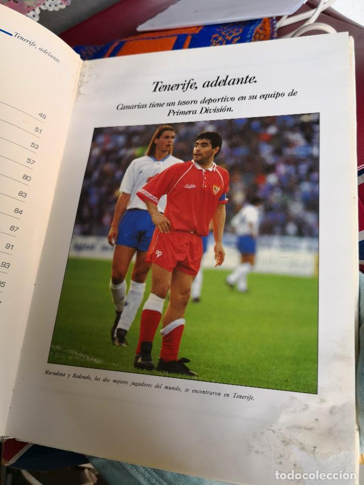 Coleccionismo deportivo: TENERIFE ADELANTE, ANDRES CHAVES. CANARIAS 1993 . TAPA DURA - Foto 6 - 116699863