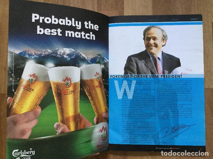Coleccionismo deportivo: Final EURO 2008 - PROGRAMA OFICIAL DE LA EUROCOPA FUTBOL 2008 SELECCION ESPAÑOLA CAMPOS,ETC - Foto 2 - 117612303