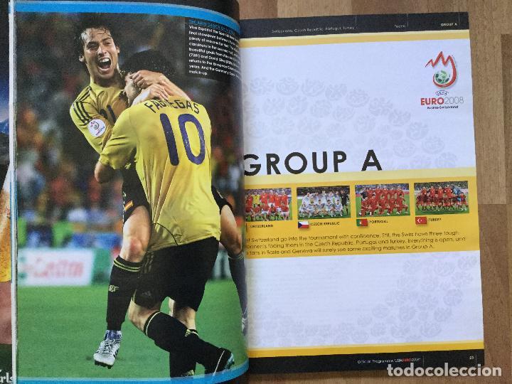 Coleccionismo deportivo: Final EURO 2008 - PROGRAMA OFICIAL DE LA EUROCOPA FUTBOL 2008 SELECCION ESPAÑOLA CAMPOS,ETC - Foto 3 - 117612303