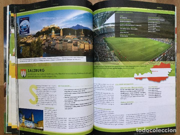 Coleccionismo deportivo: Final EURO 2008 - PROGRAMA OFICIAL DE LA EUROCOPA FUTBOL 2008 SELECCION ESPAÑOLA CAMPOS,ETC - Foto 7 - 117612303