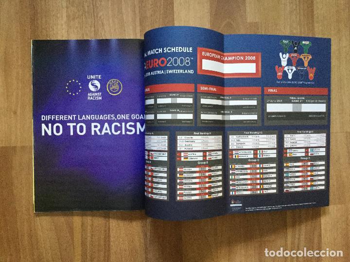 Coleccionismo deportivo: Final EURO 2008 - PROGRAMA OFICIAL DE LA EUROCOPA FUTBOL 2008 SELECCION ESPAÑOLA CAMPOS,ETC - Foto 8 - 117612303