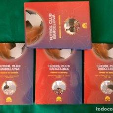 Coleccionismo deportivo: FUTBOL CLUB BARCELONA CONOCE SU HISTORIA - 3 TOMOS - 23 X 30 - TOTAL 452 PAGINAS - DICUR (VER FOTOS). Lote 236737455