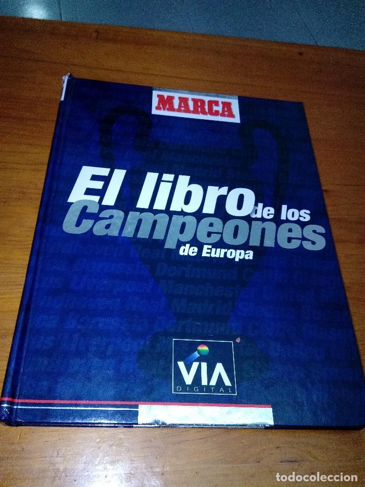 EL LIBRO DE LOS CAMPEONES DE EUROPA. MARCA. LIBRO CON CROMOS. INCOMPLETO HASTA EL 60. EST21B4 (Coleccionismo Deportivo - Libros de Fútbol)