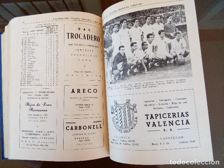 Coleccionismo deportivo: anuario del futbol español - temporada 1957 -58 - ediciones alonso - 912 paginas - buen estado - Foto 4 - 117928819