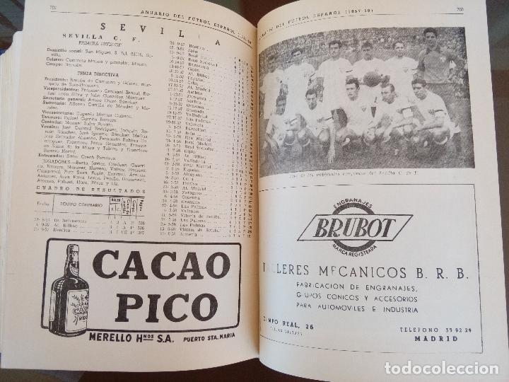 Coleccionismo deportivo: anuario del futbol español - temporada 1957 -58 - ediciones alonso - 912 paginas - buen estado - Foto 5 - 117928819