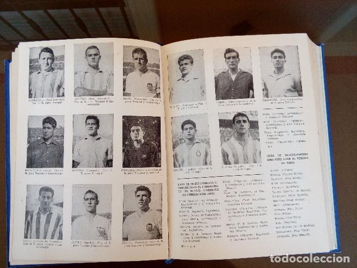Coleccionismo deportivo: anuario del futbol español - temporada 1957 -58 - ediciones alonso - 912 paginas - buen estado - Foto 7 - 117928819