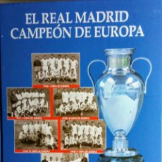 Coleccionismo deportivo: EL REAL MADRID CAMPEÓN DE EUROPA COMPLETO 37 ENTREGAS Y TAPAS. DIARIO ABC. 1998.. Lote 118001627