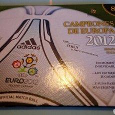 Coleccionismo deportivo: LIBRO DVD CAMPEONES DE EUROPA 2012. Lote 118425570