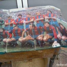 Coleccionismo deportivo: POSTER HISTORIA F. C. BARCELONA. Lote 118720155