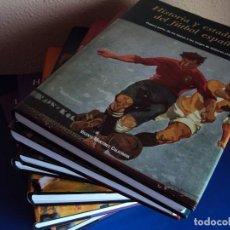 Coleccionismo deportivo: (F-180467)HISTORIA Y ESTADISTICA DEL FÚTBOL ESPAÑOL. 7 TOMOS - MARTINEZ CALATRAVA, VICENTE. Lote 119018387