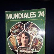 Coleccionismo deportivo: MUNDIALES 74 POR J . CRUYFF. Lote 119334754