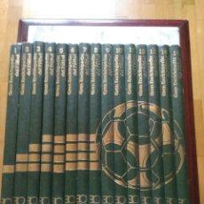 Coleccionismo deportivo: GRAN ENCICLOPEDIA DEL FUTBOL. 15 TOMOS.. Lote 119446110