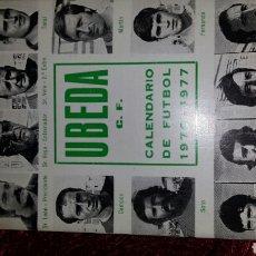 Coleccionismo deportivo: CALENDARIO DE FUTBOL 1976-1977. Lote 119537610