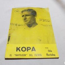 Coleccionismo deportivo: ENCICLOPEDIA DE LOS DEPORTES NUMERO16 - KOPA , EL NAPOLEON DEL FUTBOL AÑOS 50 ARPEM. Lote 119994143