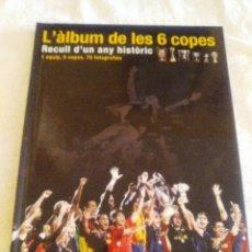 Coleccionismo deportivo: L'ÀLBUM DE LES 6 COPES. Lote 120226644