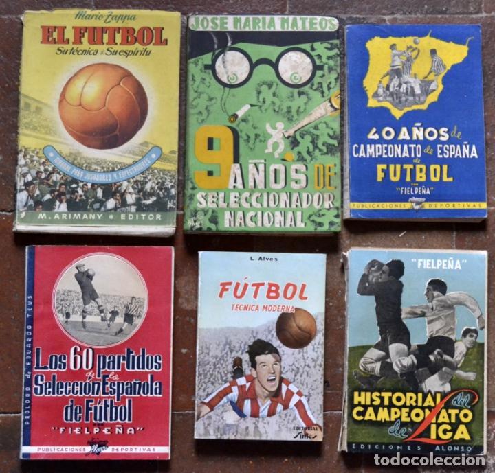 ad027725a3265 lote de 6 libros de futbol años 30-40   fielpeñ - Comprar Libros ...