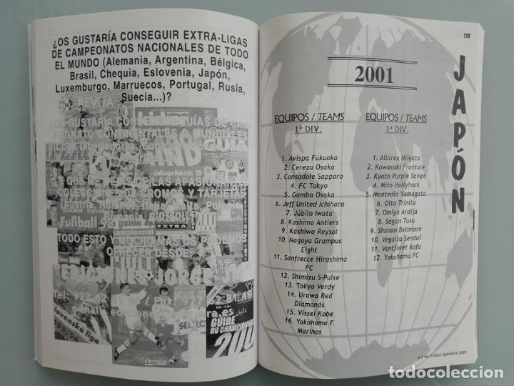 Coleccionismo deportivo: A-Z DEL FÚTBOL APÉNDICE 2001 (by Jorge Jiménez) - Anuario / Yearbook # - Foto 2 - 120577447