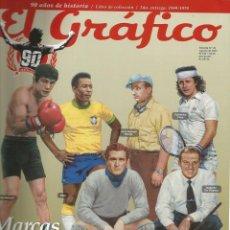 Coleccionismo deportivo: EL GRÁFICO - MARCAS REGISTRADAS. 90 AÑOS DE HISTORIA: 1949-1978 - ANUARIO / YEARBOOK. Lote 133169251