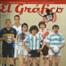 Coleccionismo deportivo: EL GRÁFICO - MARCAS REGISTRADAS. 90 AÑOS DE HISTORIA: 1979-2008 - ANUARIO / YEARBOOK. Lote 120760783
