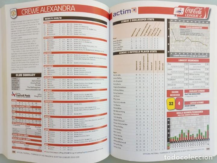 Coleccionismo deportivo: OFFICIAL LEAGUE. - THE OFFICIAL FOOTBALL YEARBOOK 2010-2011 - Anuario / Yearbook. # - Foto 4 - 120761655