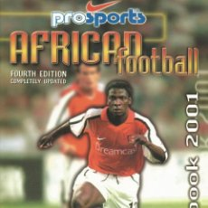 Coleccionismo deportivo: FILIPPO M. RICCI. - THE AFRICAN FOOTBALL YEARBOOK 2001 - ANUARIO / YEARBOOK.#. Lote 120764607